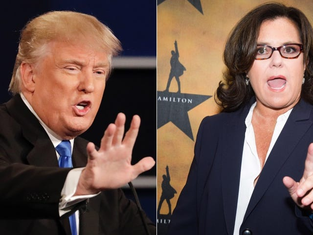 Here's Why Donald Trump Hates Rosie O'Donnell