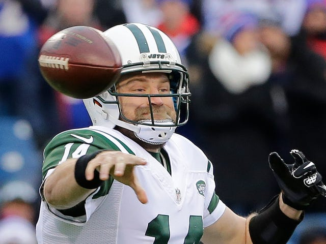 Ryan Fitzpatrick's Standoff With The Jets bliver Dire