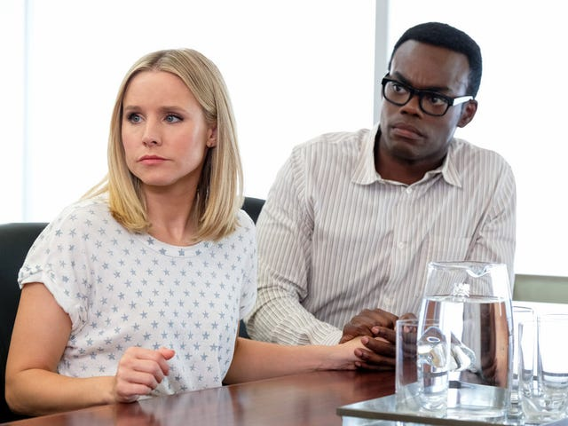 The Good Place slices away yet more layers of its mystery as Chidi sees the time-knife