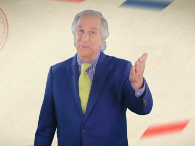 Henry Winkler and some celebrity pals offer bad advice on The Late Show