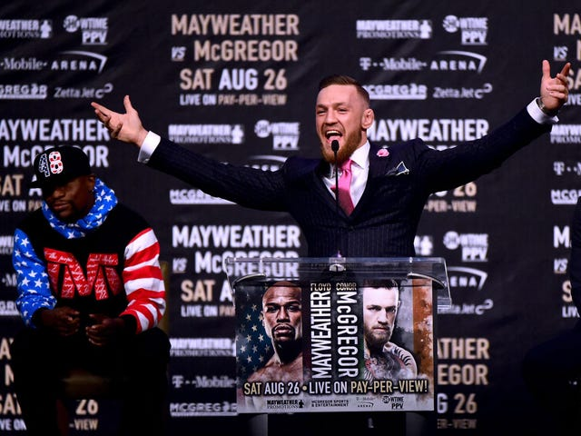 Wait, Did Floyd Mayweather Jr. Just Get Out-Mayweathered by Conor McGregor?