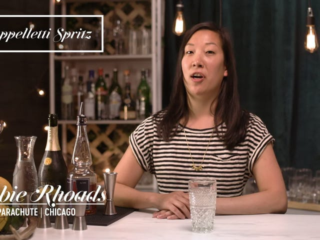 How to make the Cappelletti Spritz cocktail