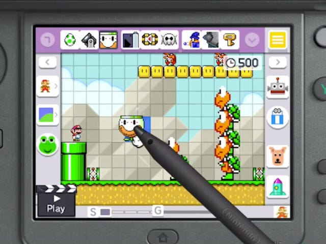 Modders Adding Missing Sharing Features To Mario Maker 3DS