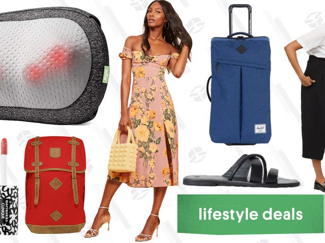 Friday's Best Lifestyle Deals: Massagers, Backcountry, Sephora, Reformation, and More