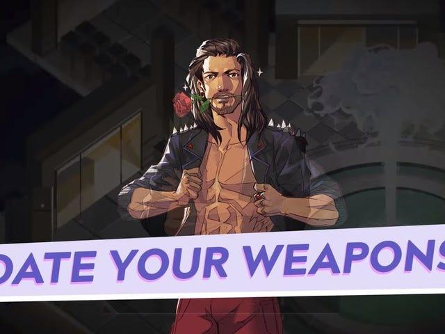Boyfriend Dungeon is een aankomend spel waarin je kerkers plundert terwijl je ook je wapens dateert.  Deze trailer is heerlijk, en ik kan niet wachten om erachter te komen welk zwaard ik het meest wil kussen.