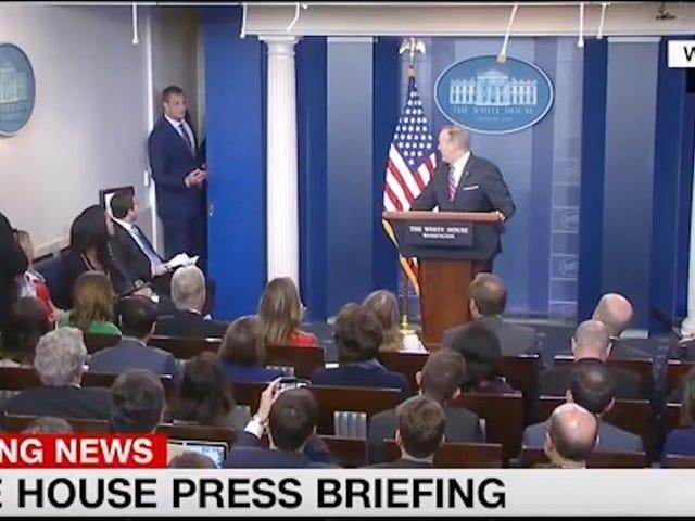 Rob Gronkowski Crashes White House Press Briefing
