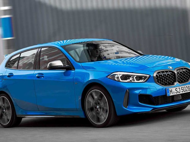 Here Is The Mostly Front-Wheel Drive 2020 BMW 1 Series Someone (?) Asked For