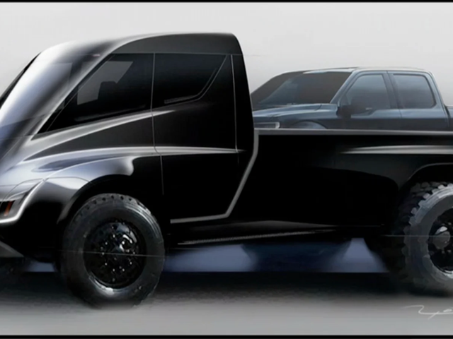 Elon Musk Says the Tesla Pickup Has to Start at Less Than $50,000