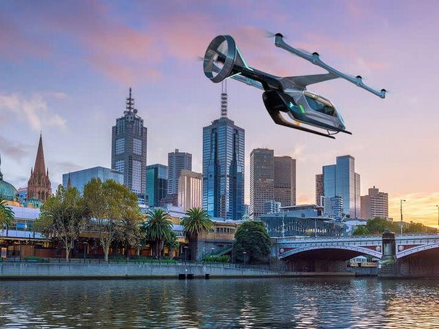Uber Claims 'Aerial Ridesharing' On Track to Be 'More Economically Rational' Than Driving in About Three Years