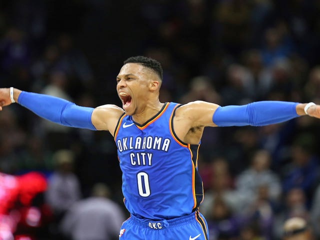 Russell Westbrook Downs Kings With Soul-Crushing Buzzer-Beating Three