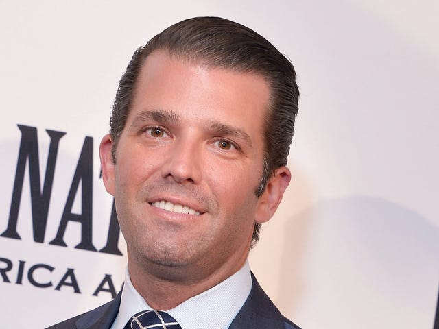 Don Jr. Is a One-Man Donald Trump Cover Band
