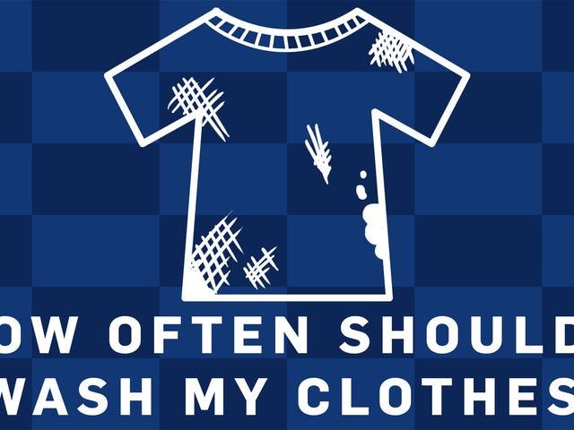 Bagaimana Selalu Anda Harus Mencuci Pakaian Anda, Menurut Sains