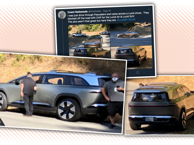 Lucid Spotted Testing An SUV Version Of Its Upcoming EV