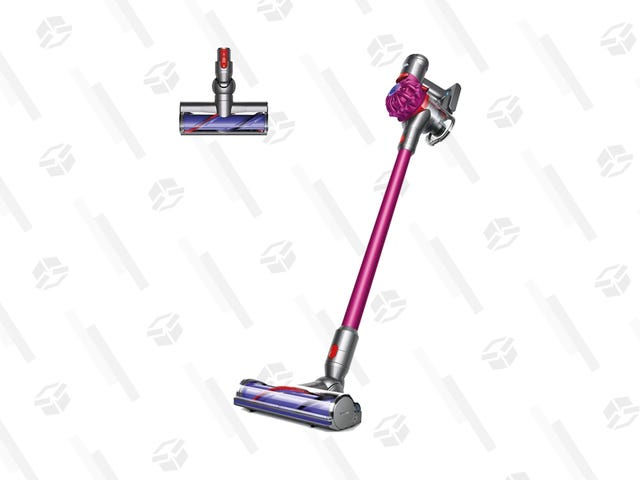 Cut the Cord on Cleaning: Dyson's V7 Fluffy Is $200 off at Newegg