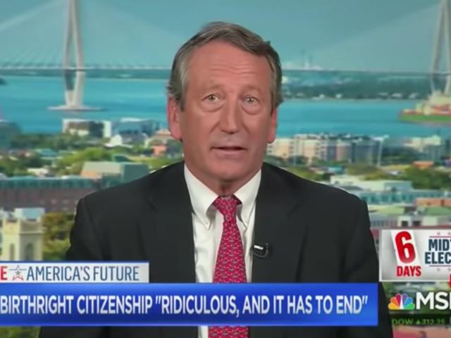 El representante de SC Mark Sanford dice que los haitianos no deberían obtener la ciudadanía por derecho de nacimiento porque no son 'ex esclavos'