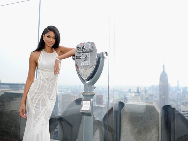 A Model Marriage: Chanel Iman Shows Us How Supermodels Say 'I Do'