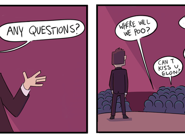 Las preguntas más est pupidas que le hicieron a Elon Musk en directo ... Thêm bài này vào danh sách Video của bạn Download bài này Elon Marte