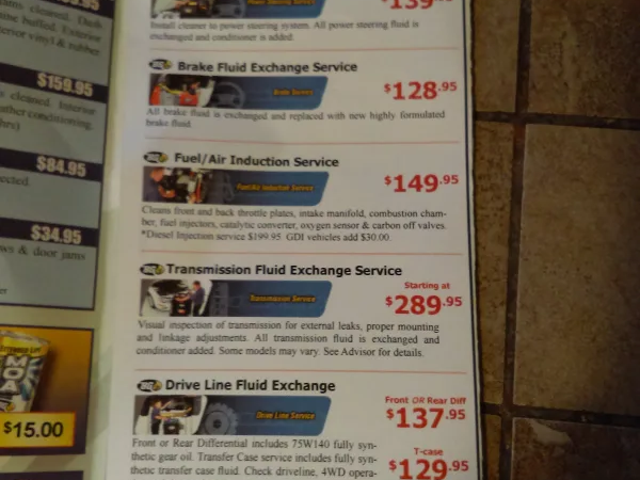 Một số giá này có vẻ nghi ngờ đối với tôi