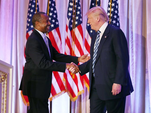 Like the Good Ol' Boy He Is, Ben Carson Wants You All to Know That Donald Trump Is 'Not a Racist'
