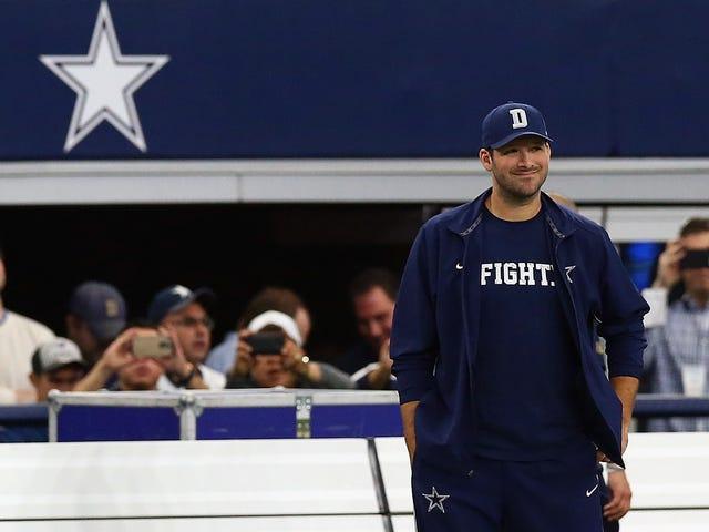 Parece que Tony Romo está listo