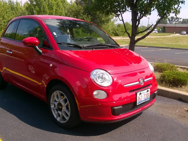 Honestly Refreshing: A Fiat 500 Review