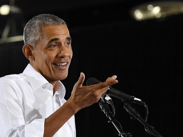 बराक ओबामा ने वर्ष की सर्वश्रेष्ठ पॉप संस्कृति की अपनी निराशाजनक उत्कृष्ट सूची जारी की