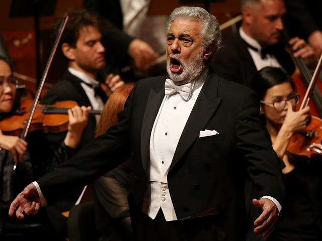 Opera star Placido Domingo accused of sexual harassment by multiple women