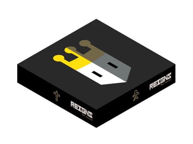 Reigns, ein sehr gutes Videospiel, wurde jetzt in ein Brettspiel verwandelt