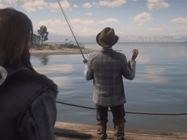 Red Dead's Giant Catfish Has Finally Been Caught (In The Game's Files)