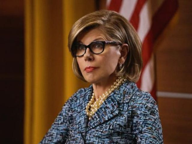 A recent The Good Fight episode replaced a cut sequence with a weird censorship message