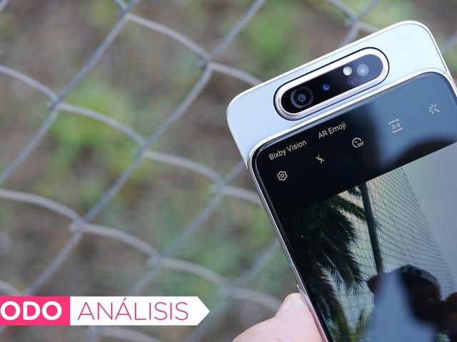 Ni siquiera la cámara giratoria puede justificar el preio del Galaxy A80