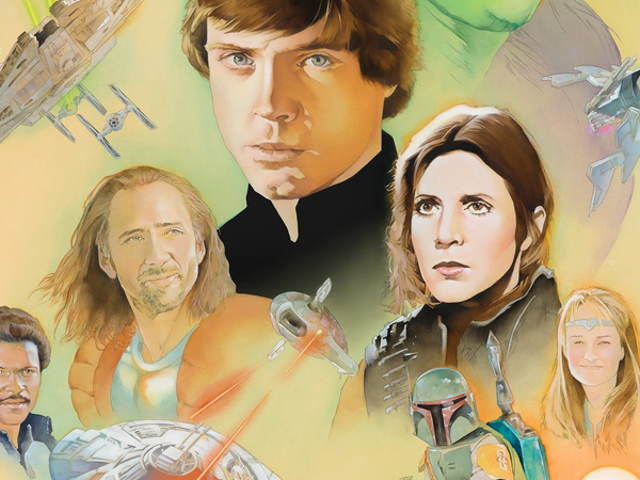 Artist Imagines aShadows of the EmpireMovie With the Greatest Cast 1996 Had to Offer