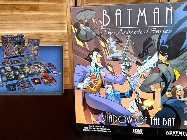 The New Batman: The Animated Series Board Game Is A Big Box Of Bat Action