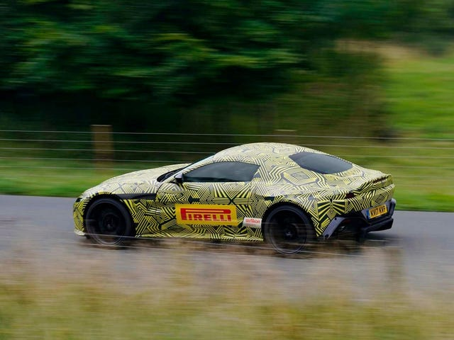 Aston Martin Is Finally Going To Build James Bond's DB10 As The Next Vantage