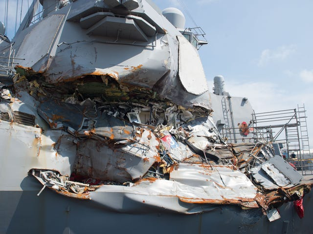 Inside The Struggle For Survival Onboard The USS Fitzgerald