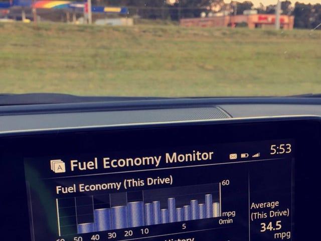 Highway mileage.