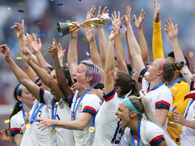 Megan Rapinoe Says Fans Can Support Equal Pay by Going to Women's Soccer Games