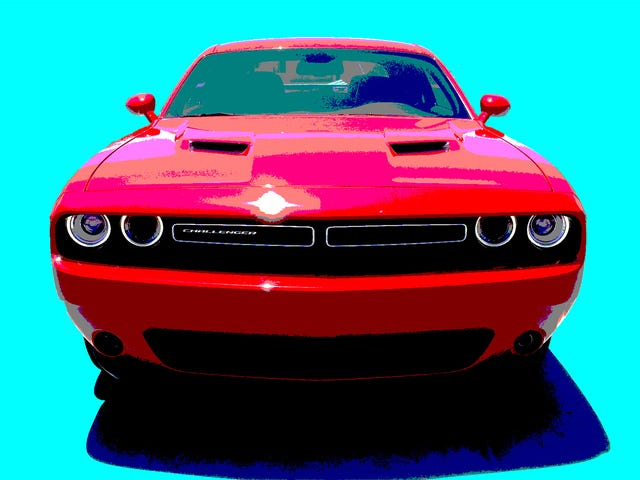 Somebody Please Step Up And Complete The Dodge Challenger