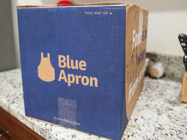 Поместите в это вилку: синий фартук может привести к распродаже на фоне ужасных квартальных результатов