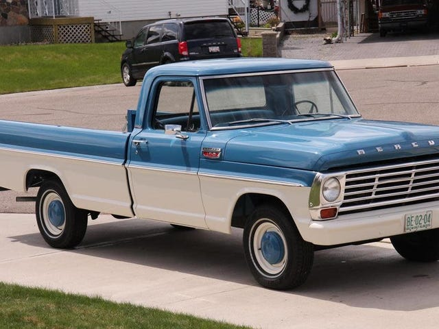 Old Mercury Pickup Trucks From Canada Weird Me Out