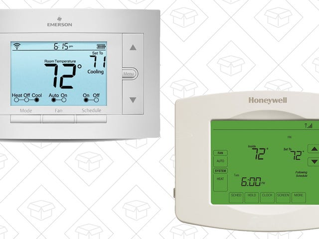 Get Nest-Like Features For Under $100 With a Pair of Discounted Thermostats