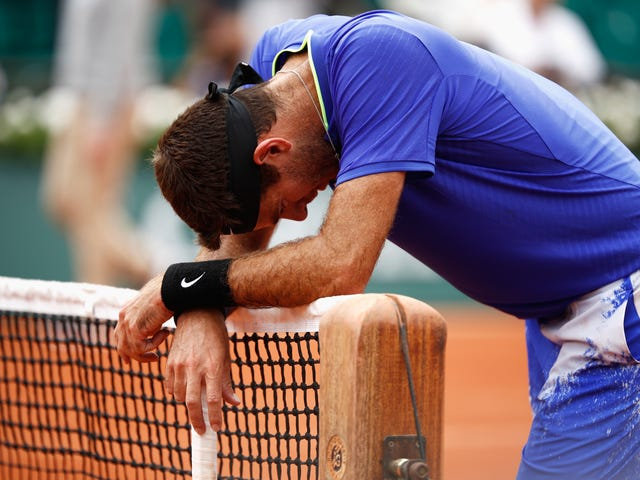 Juan Martin Del Potro's Injury Might Take Him Out Of Wimbledon