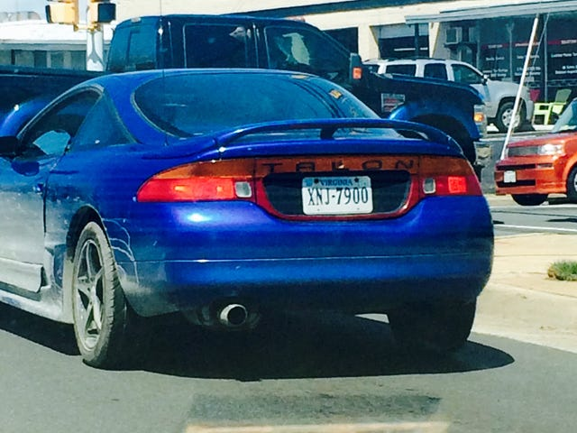 Eagle Talon, in the wild...