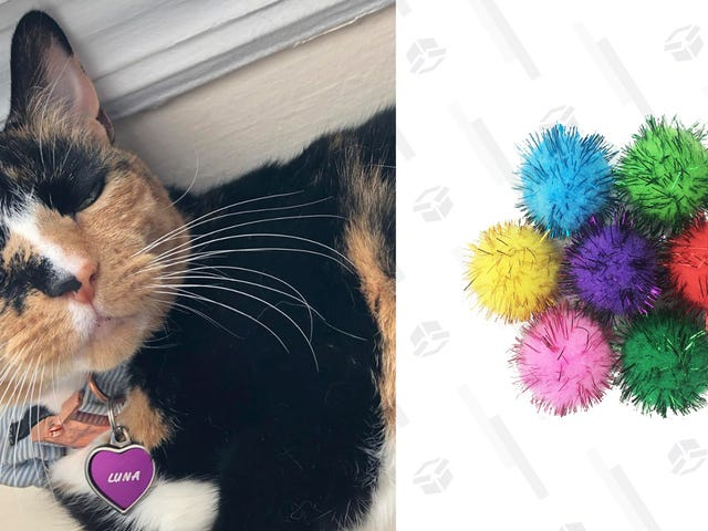 My Cat Loves This 30-Pack of Sparkly Balls More Than She Loves Me