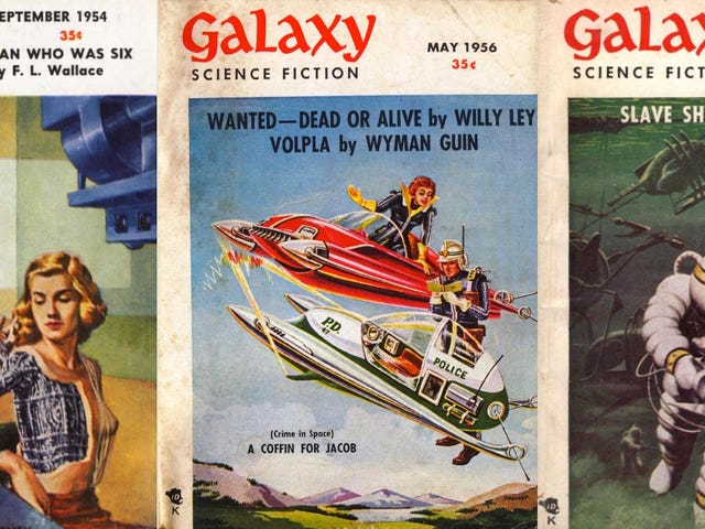 Vintage Scifi Mag Galaxy Available For Free Online