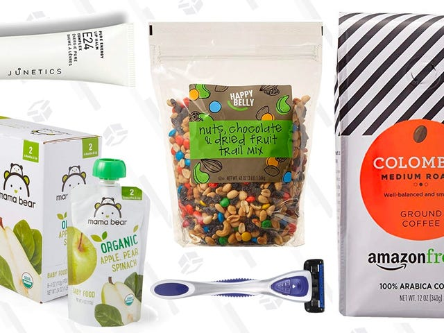 Try Out Amazon's Brands of Coffee, Snacks, Grooming Products, and More For 30% Off