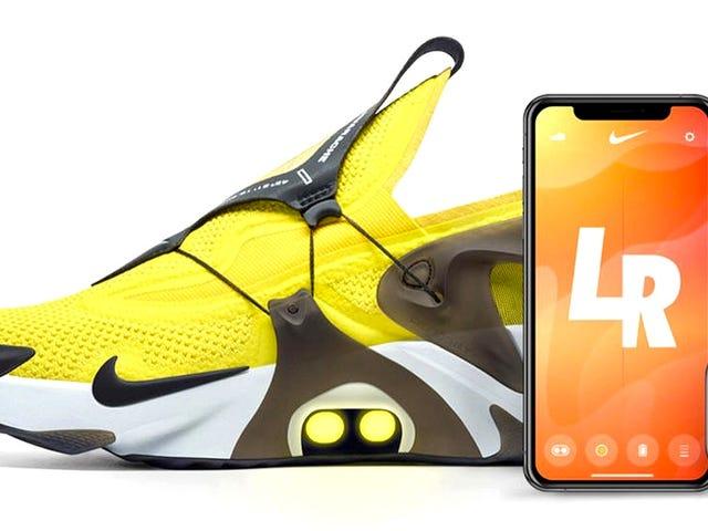 Du kan nu säga Siri att dra åt dina Nike själv snörning sneakers