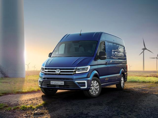 Volkswagens e-Crafter er en super-langsom elektrisk lastbil, der ikke er en beskidt diesel
