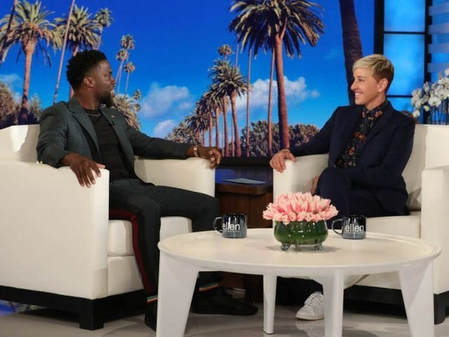 Kevin Hart Might Host the Oscars After All, Thanks to Ellen DeGeneres