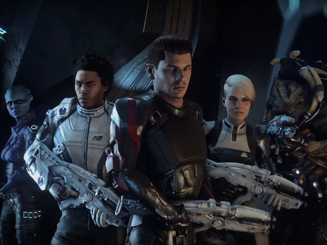 Bertemu Beberapa <i>Mass Effect: Andromeda</i> Anda <i>Mass Effect: Andromeda</i> Teammates